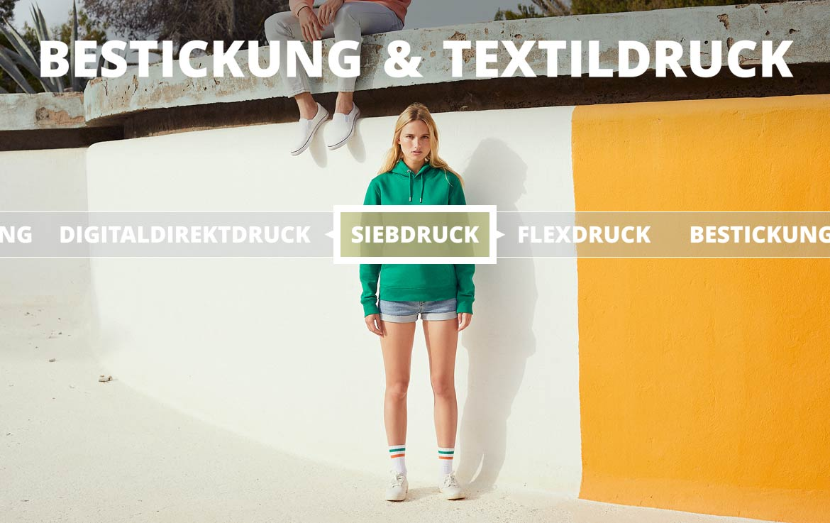 Stickerei-Textildruck